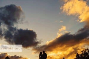 silhouette photography