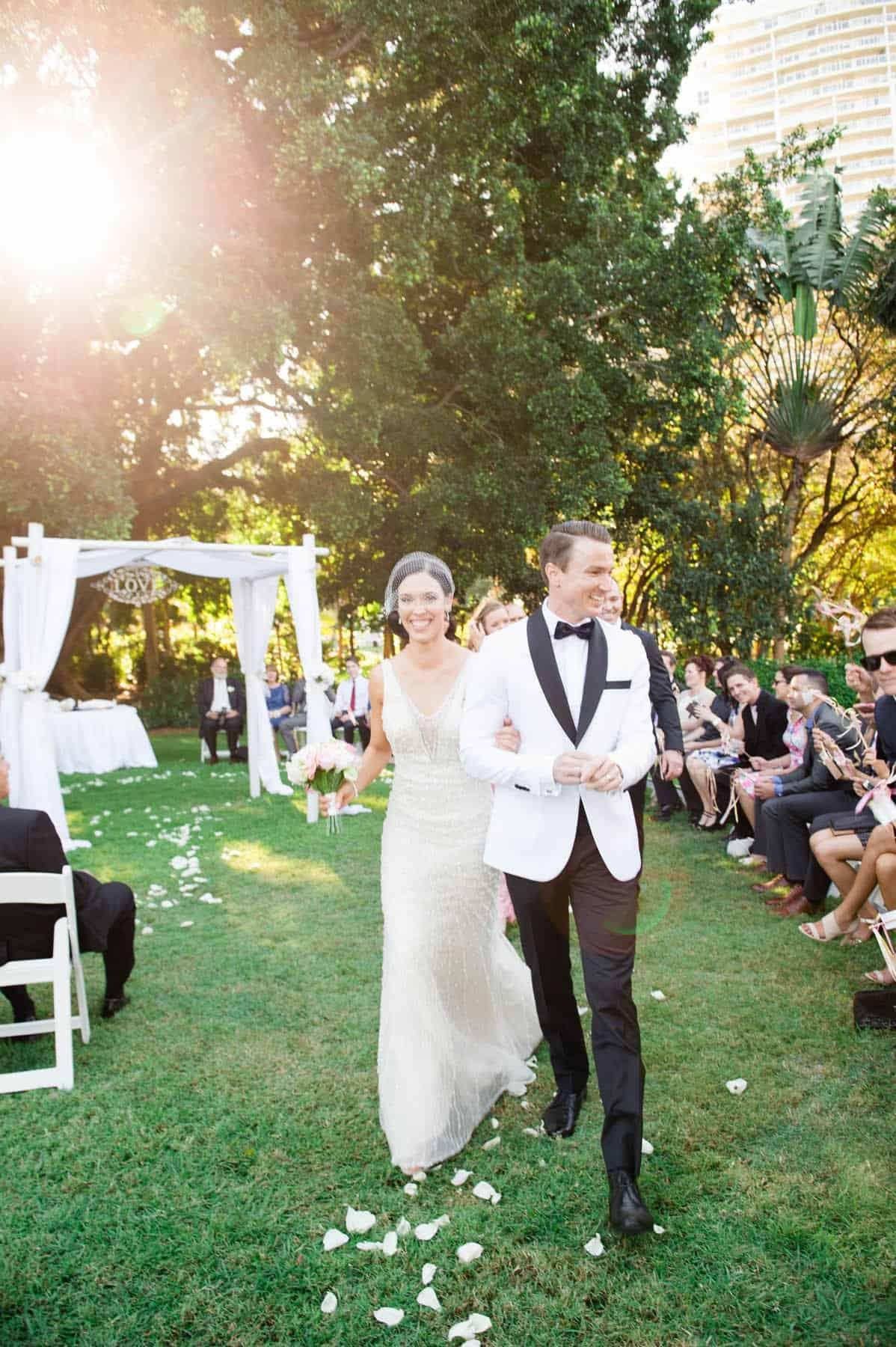 Brisbane ceremony outdoor ceremony ideas