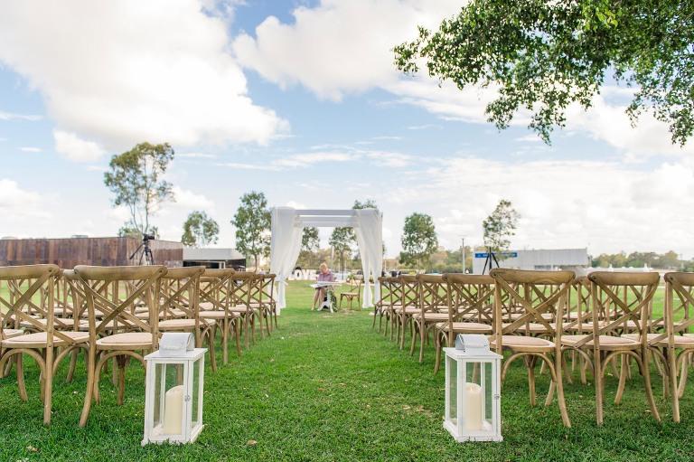 Northshore Brisbane wedding ceremony