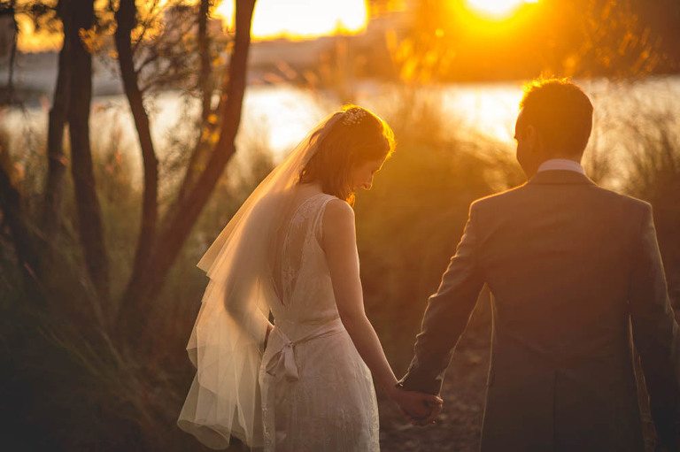Brisbane Wedding photography - Sunset photo