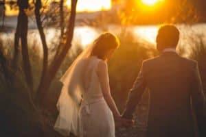 Brisbane Wedding photography - Sunset photo