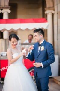 fun brisbane wedding photographer