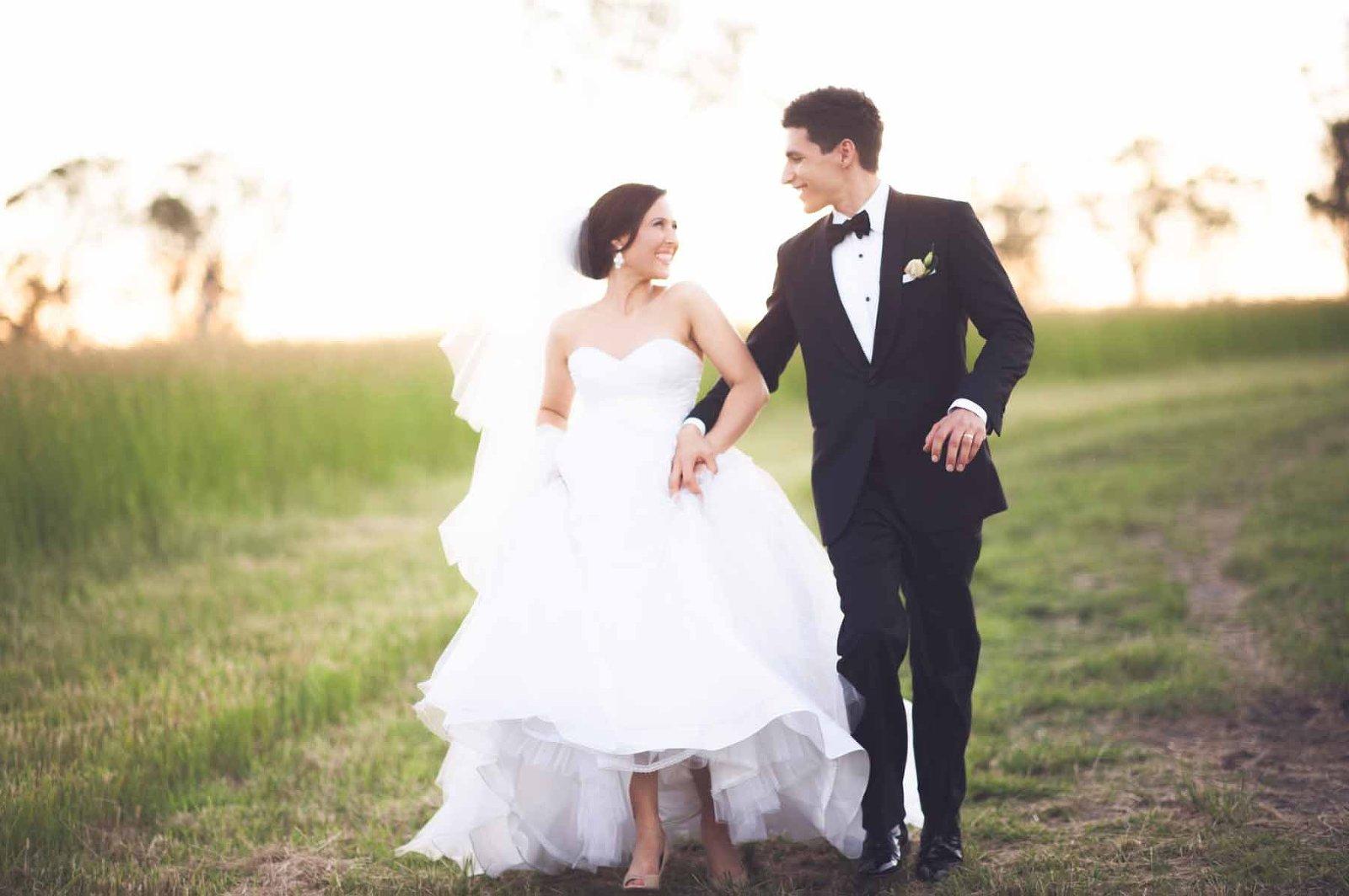Brisbane wedding reception venue Sirromet winery - fields