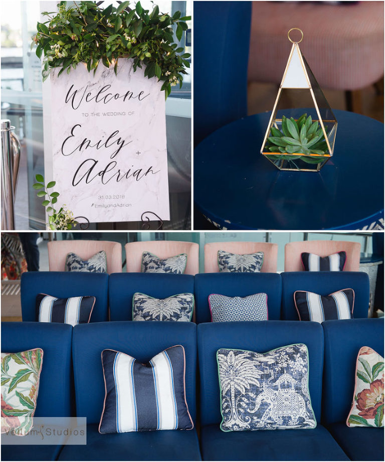 Mr & Mrs Riverbar wedding Brisbane - ceremony details