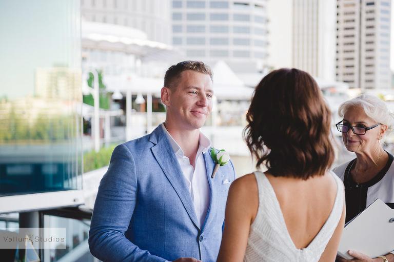 Mr & Mrs Riverbar wedding Brisbane - wedding