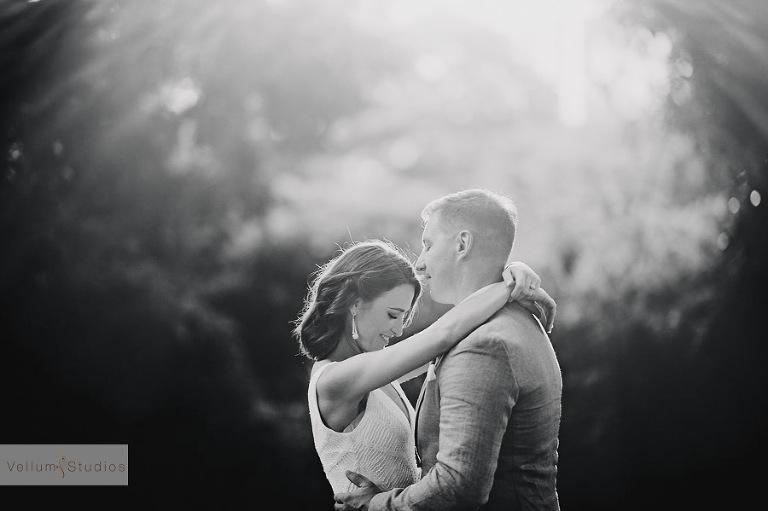 Mr & Mrs Riverbar wedding Brisbane - great light