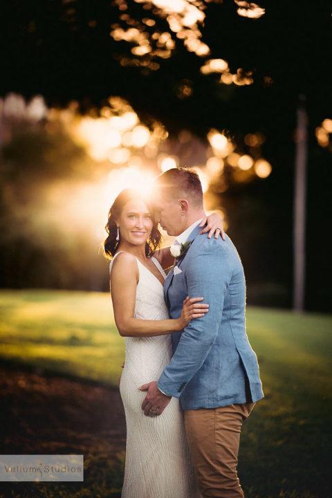 Mr & Mrs Riverbar wedding Brisbane - love the light