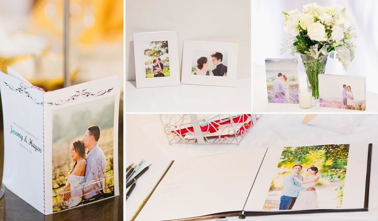 Engagement photography prints, cards and books
