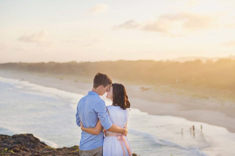 Beach Engagement photography session