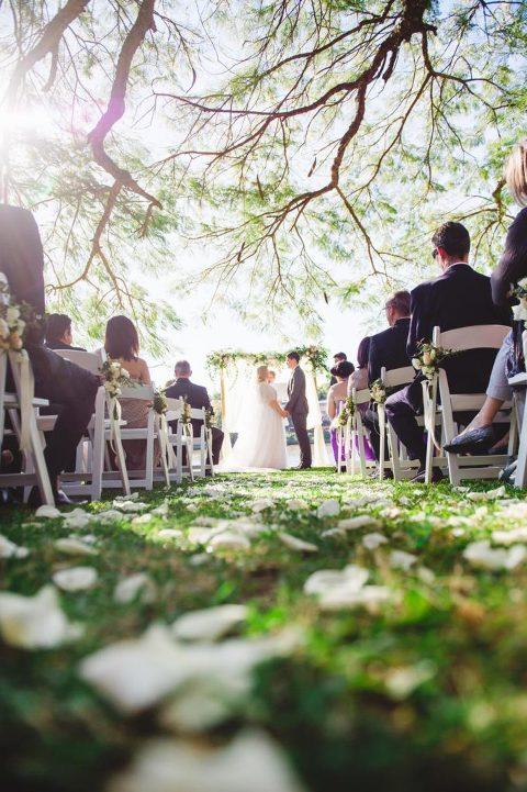 Brisbane wedding photographer - Unplugged wedding ceremony