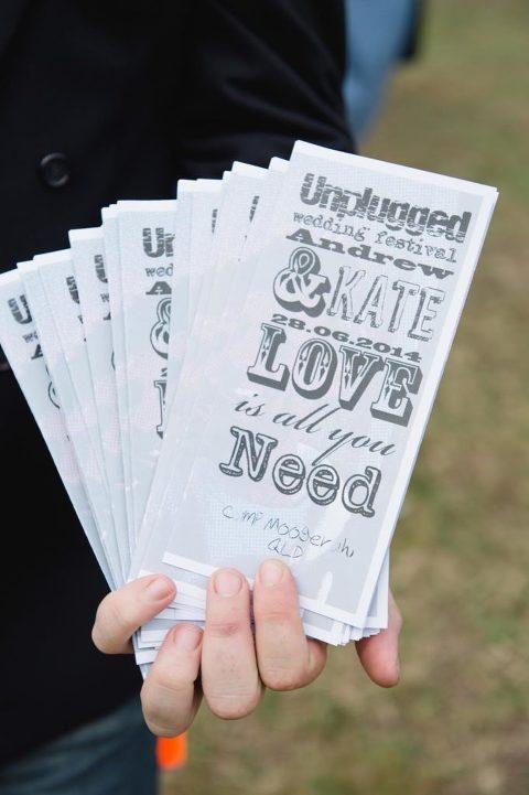Brisbane wedding photographer - Unplugged wedding