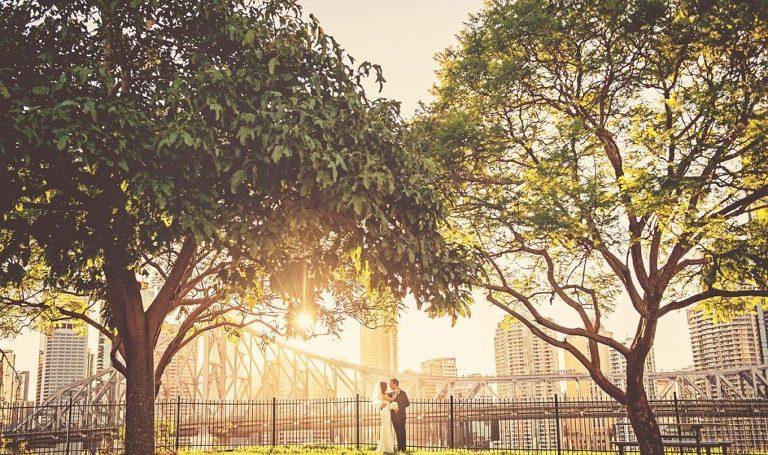 Wedding-photography-Brisbane- sunset shot