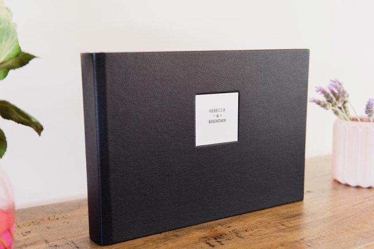 Wedding-photography-Brisbane-leather-album