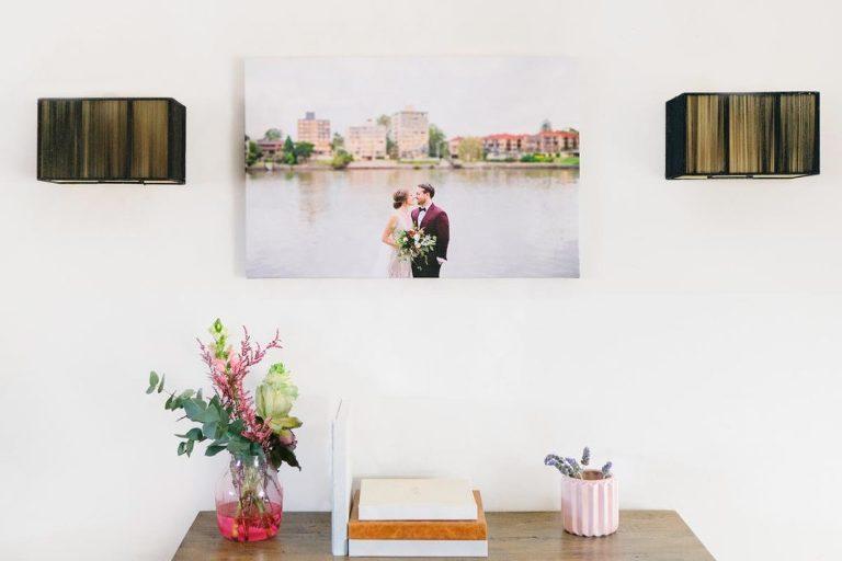 Wedding-photography-Brisbane- wall gallery