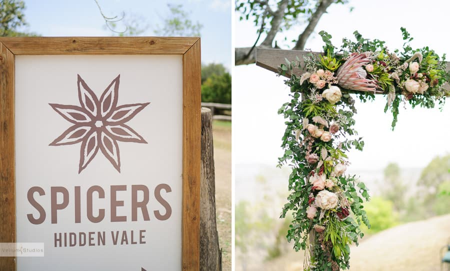 Spicers_Hidden_Vale_Wedding - sign